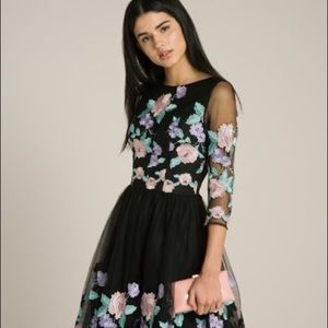 Chi chi London Catilyn embroidered dress